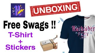 Hacktoberfest Limited Edition T-shirt Swags Unboxing | Hacktoberfest Swags | Hacktoberfest 2020
