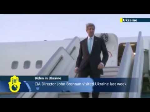 Ukraine Crisis: American Vice President Joe Biden arrives in Kiev to meet Ukrainian officials