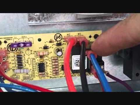 Heat pump air handler changing blower speeds youtube for Air handler blower motor relay