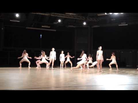 Edinburgh University Modern Dance Society Contemporary Team at Sheffield Uni Dance Competition 2014