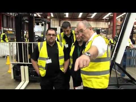 'Homebase Driver Challenge' Event Organised By Forklift Truck Distributor, Briggs Equipment UK