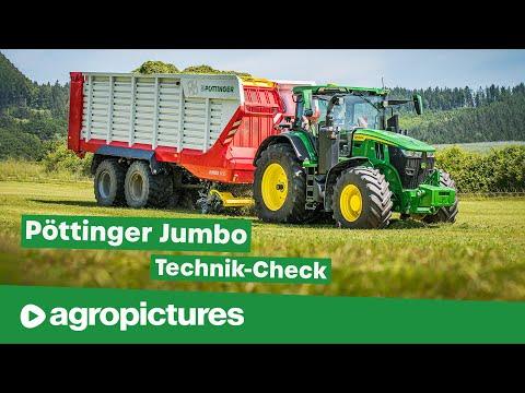Der neue Pöttinger Jumbo 7450 Kombi Ladewagen im Test | Agropictures Technik Check