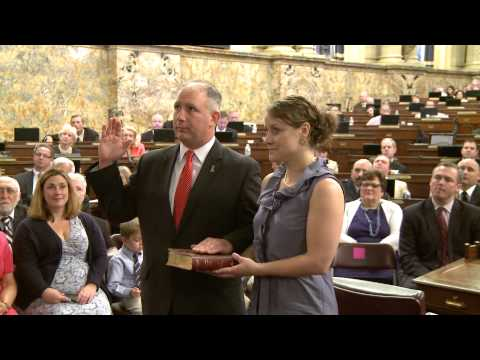 Miller Sworn-In to Pa. House of Representatives