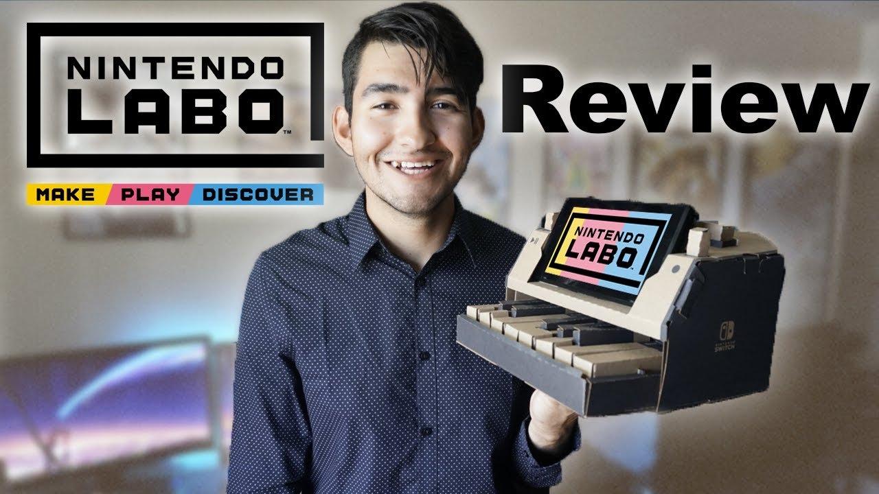Nintendo Labo Variety Kit Review Nintendo Switch