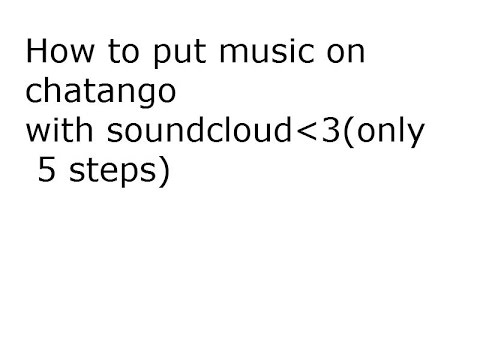 How to embed music to chatango 2014!