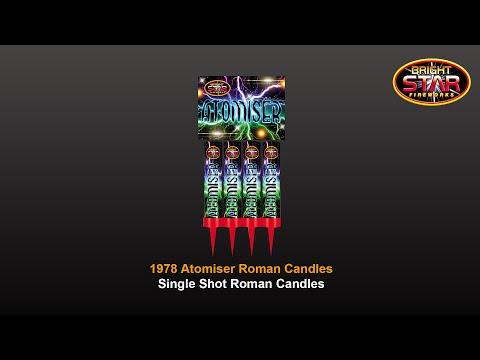 Bright Star Fireworks - 1978 Atomiser Roman Candles