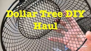 DOLLAR TREE DIY ORGANIZATION CRAFTING HOME DECOR HAUL June 2018