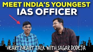 India's Youngest IAS Officer | Highly Inspirational Story | Pradeep Singh | Heart2Heart Talk