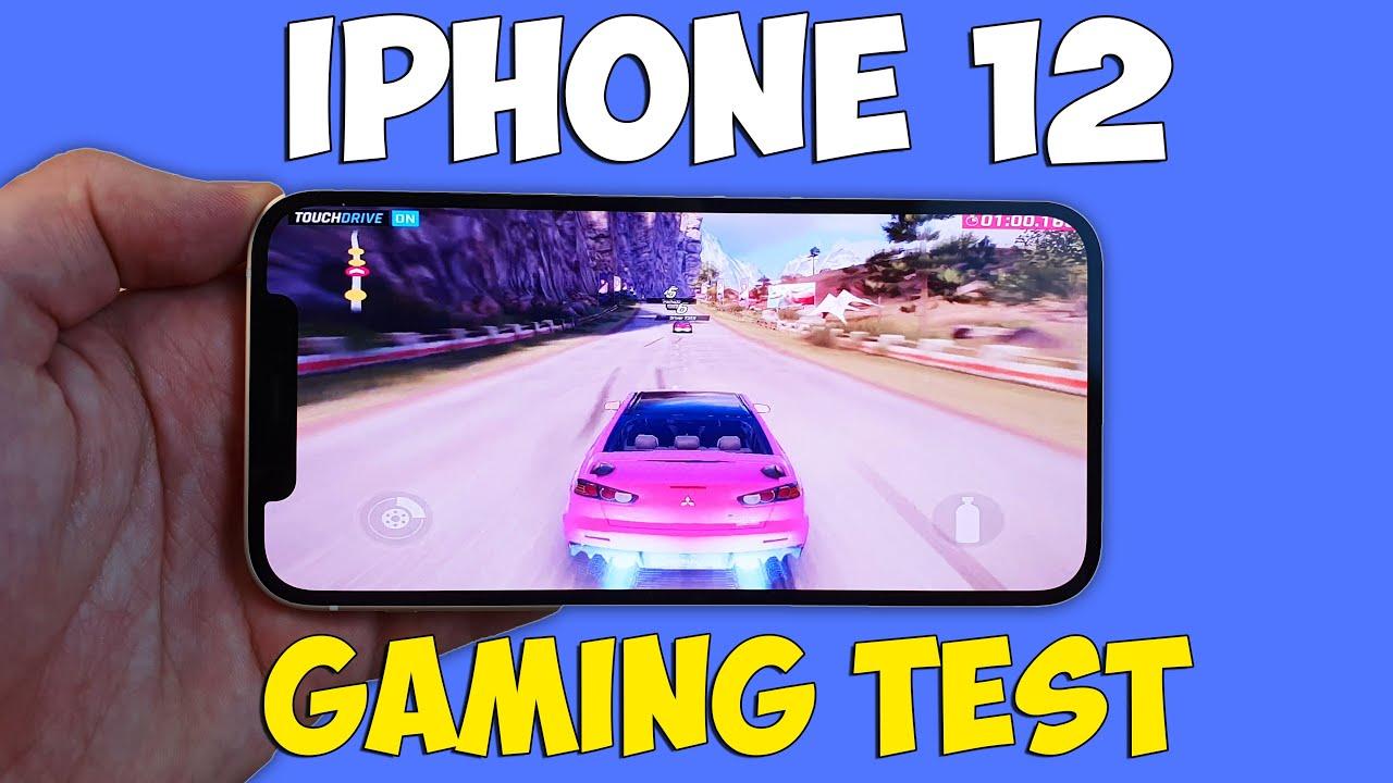 IPHONE 12 GAMING TEST (APPLE A14) - ИГРОВОЙ ТЕСТ!
