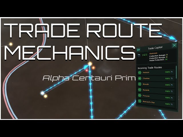 Stellaris - Trade Route Mechanics (The Spice Must Flow)