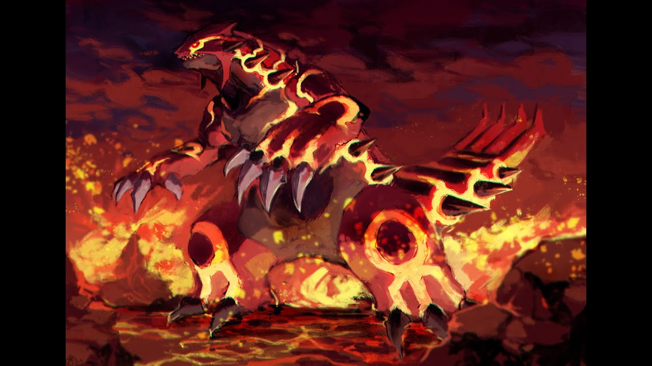 legendary pokemon groudon - photo #8
