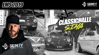 EMS 2019: Classic-Cars SIHA | Pedro bei JP | Sidney Industries