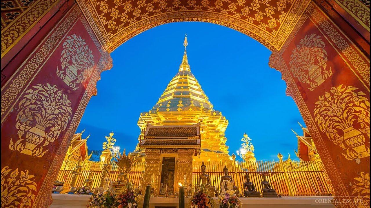 Chùa Vàng Thái Lan -  Doi Suthep - Thai Lan