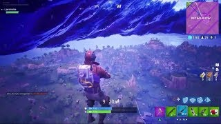 Fortnite Launch yourself working Glitch!!!