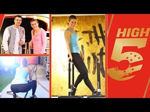 Neues High5 Gym in Berlin | Mein Eindruck + Food Diary | Neueröffnung | VERONICA-GERRITZEN.DE