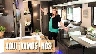 TOUR FINAL DO TRAILER DECORADO - RV - VIAGEM DE MOTORHOME EM FAMÍLIA - FLÁVIA CALINA