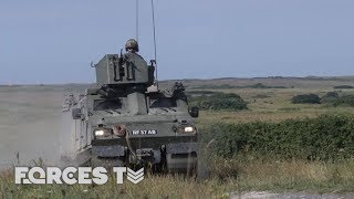 On Exercise With The Royal Marines' Viking Squadron | Forces TV