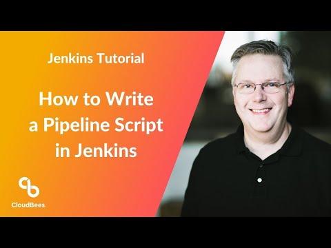 How to Write a Pipeline Script in Jenkins