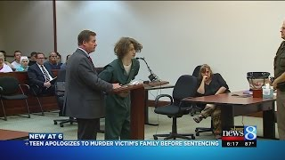 Mom confronts sons killers in GR court during sentencing