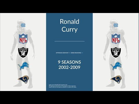 Ronald Curry: Football Offensive Assistant