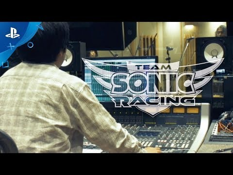 Team Sonic Racing - Behind the Music: Part 1   PS4