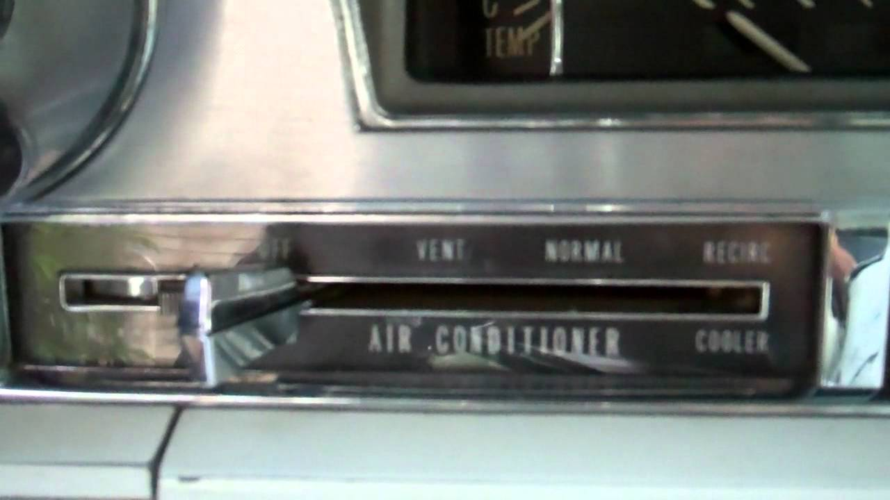 1962 Cadillac Air Conditioning Youtube