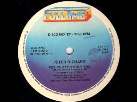 Peter richard for you for only you 12 mix