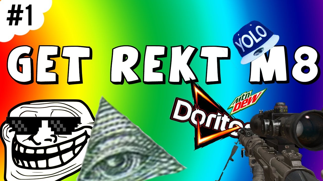 #rekt MLG 420 Smoke Weed Everyday Doritos Mountain Dew