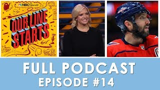 Alex Ovechkin's dominance, Patrick Kane reaches 1,000 points | Our Line Starts Ep. 14 | NBC Sports
