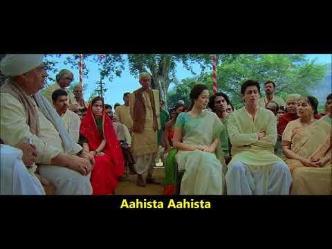 Aahista Aahista | Swades | Udit Narayan, Sadhana Sargam | A. R. Rahman | Javed Akhtar