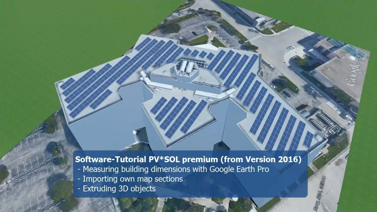 Tutorial Design A Fast Pv System With Pv Sol Premium