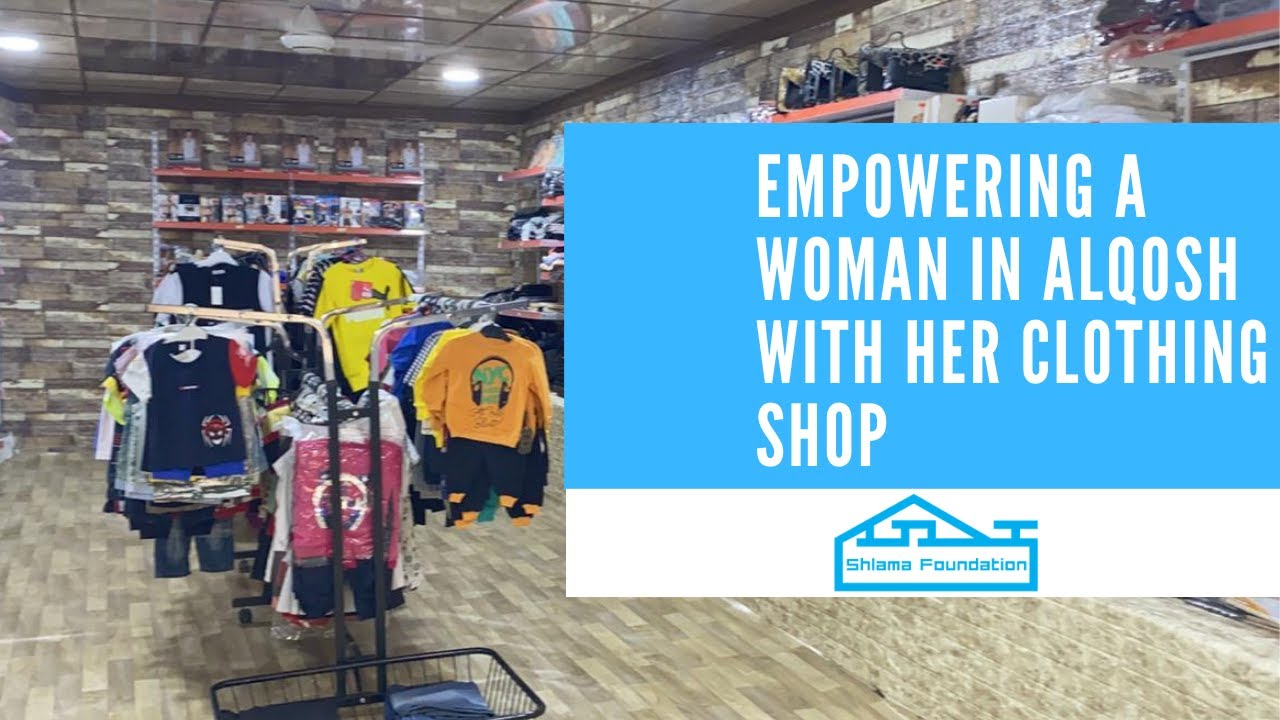 195 - Empowering a woman in Alqosh with her clothing shop