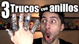Ratti-Tips: 3 Trucos que puedes hacer con anillos!!! - ChideeTv