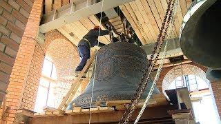 Благовест установили на звоннице собора Александра Невского