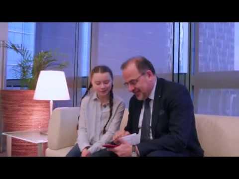 #LEuropaebella: Luca Jahier in conversation with Greta Thunberg