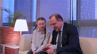#LEuropaebella: Luca Jahier in conversation with Greta Thunberg