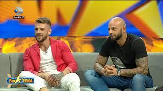 FanArena (04.10.2018) - ANUNT BOMBA! Giani Kirita si Ionut Jaguarul se intorc la EXATLON! Partea 1
