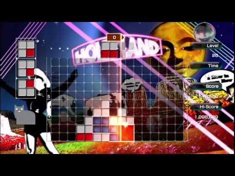 """LUMINES LIVE! gameplay """"Tokyo Club Mix"""""""