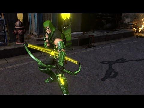 Infinite Crisis - Green Arrow Profile