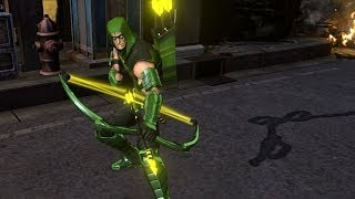Infinite Crisis - Green Arrow Profile