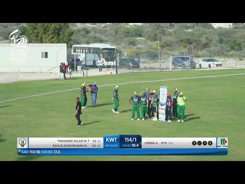 ACC Men`s Western Region T20 Tournament-  Saudi Arabia Vs Kuwait