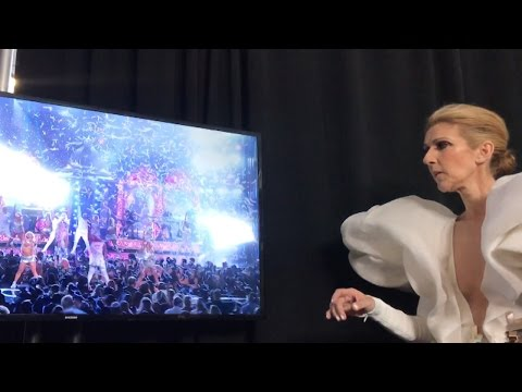 Watch Celine Dion Lead an Epic Cher Singalong Backstage at 2017 Billboard Music Awards