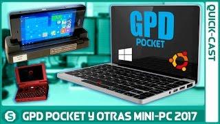 GPD Pocket y otras Mini Computadoras que llegan en 2017
