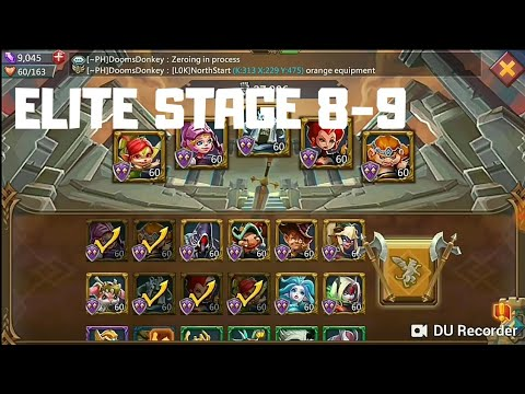 Lords Mobile - Elite Stage 8-9 3*