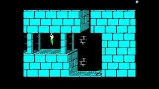 "БК-0011М, демо игры ""Принц Персии"" (BK-0011M, Prince of Persia demo)"