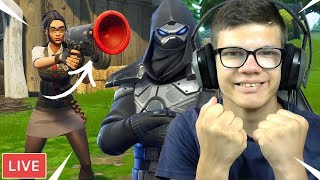 DUO'S GRINDEN MET ROOK SKIN!! - Fortnite: Battle Royale Livestream (Nederlands)