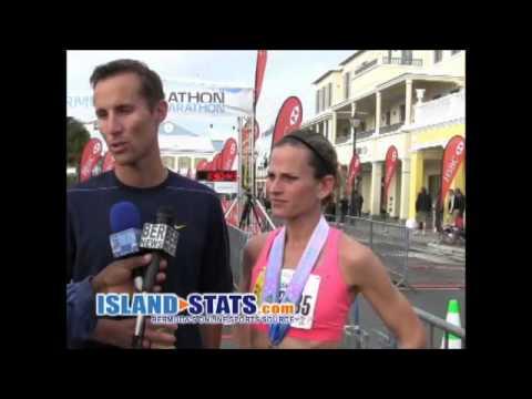 Bermuda Marathon Finish 2014