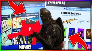 * NEW * EDITING SKINS, WEAPONS and more in the GAME | Fortnite Battle Royale