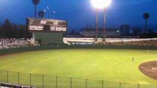 2010年6月30日県営大宮球場のライオンズ戦。おおきく振りかぶってDAY...
