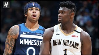 Gambar cover New Orleans Pelicans vs Minnesota Timberwolves - Full Game Highlights | March 8, 2020 NBA Season